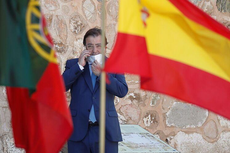 Le président d'Estrémadure, Guillermo Fern