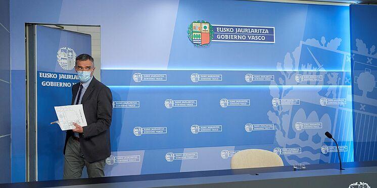 Le directeur des droits de l'homme du gouvernement basque, Jonan Fern