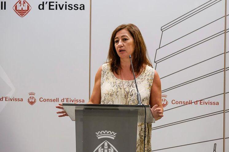 La présidente des Baléares, Francina Armengol.