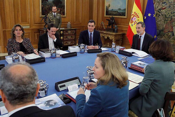 Felipe VI préside la réunion
