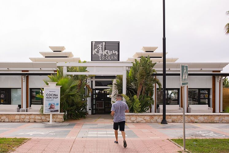 L'établissement Kokun Ocean Club, fermé provisoirement, à ...