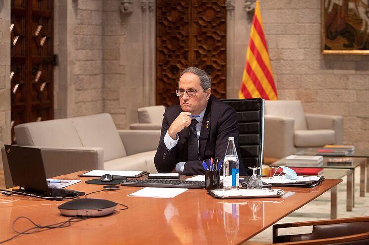Le président de la Generalitat, Quim Torra.