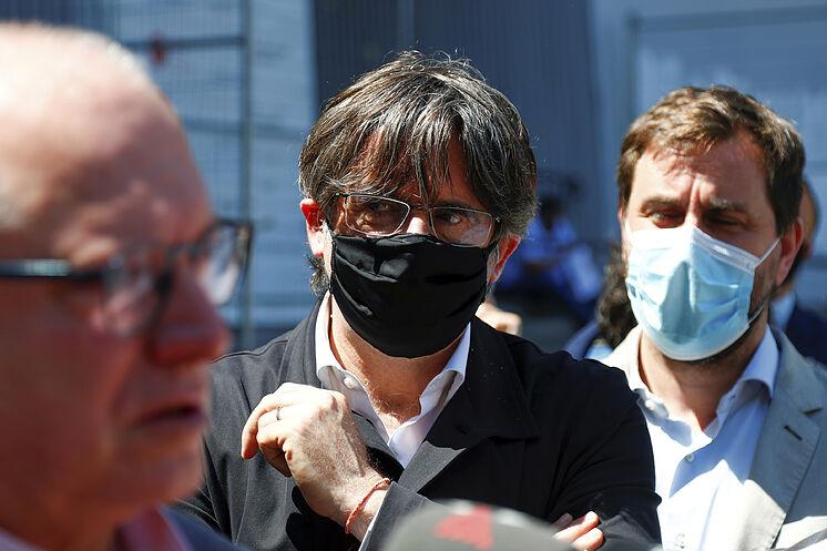 Carles Puigdemont, en juin dernier à Bruxelles.