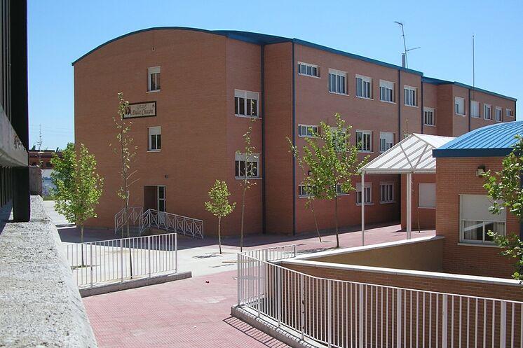 L'école publique Dulce Chacón, à Fuenlabrada, où ...