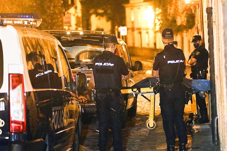 Les événements se sont produits hier lundi dans la rue Loureiros de Santiago.
