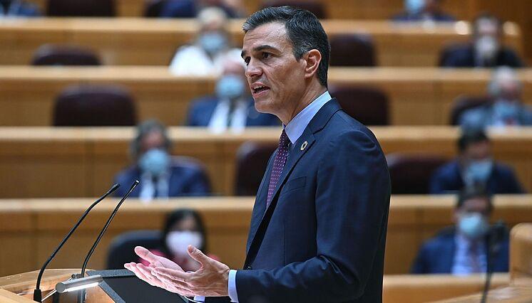 GRAF1553. MADRID.- Le Président du Gouvernement, lt; HIT gt; Pedro lt; / HIT ...
