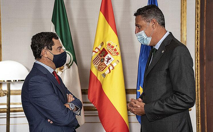 Le président de la Junta de Andaluc