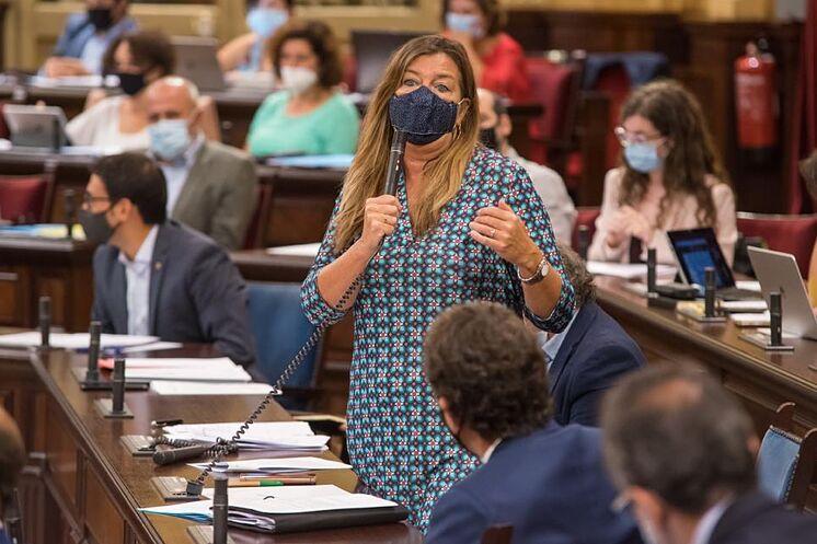 La ministre de la Santé, Patricia G