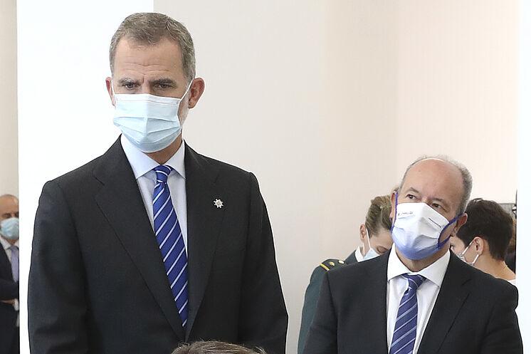 Felipe VI, ce jeudi à la Cour des comptes avec le ministre de ...