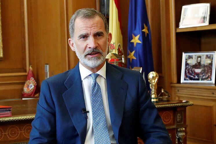 Le roi Felipe, dans une photo d'archive.