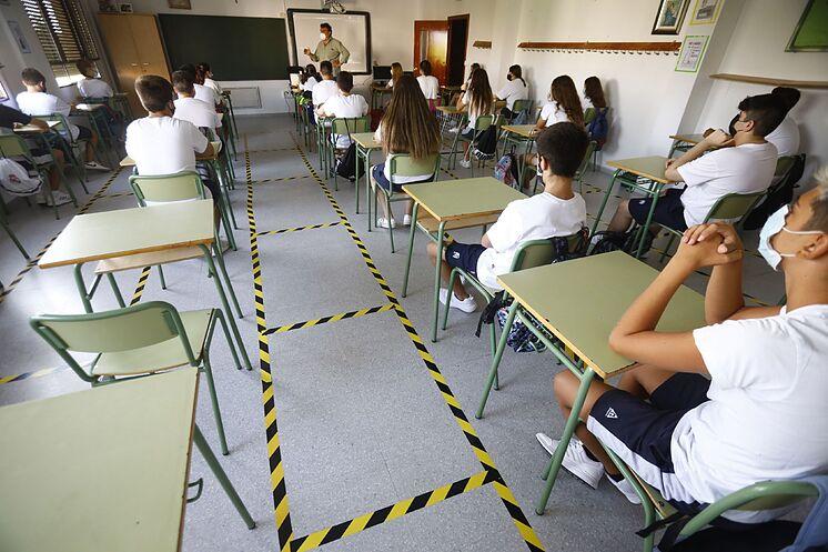 Une classe du Colegio San Rafael del Obispo en C