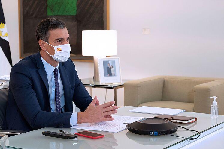 MADRID.- Le Président du Gouvernement, Pedro lt; HIT gt; S