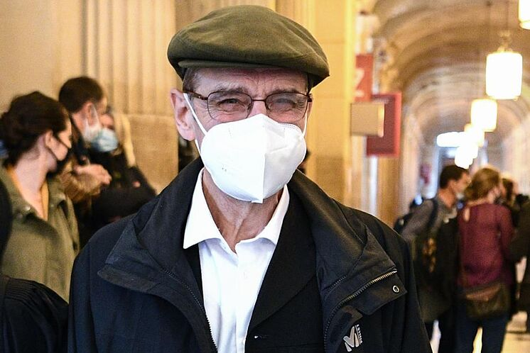 Josu Ternera, à son arrivée à la cour d'appel de Paris.