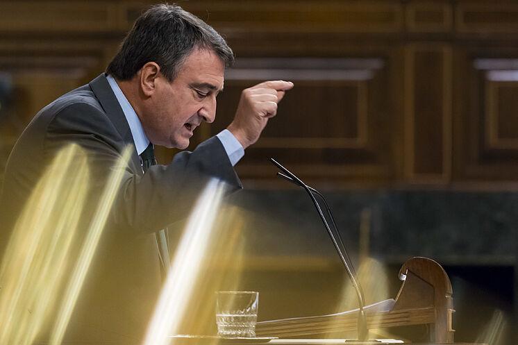 Aitor Esteban, porte-parole du PNV au Congrès.