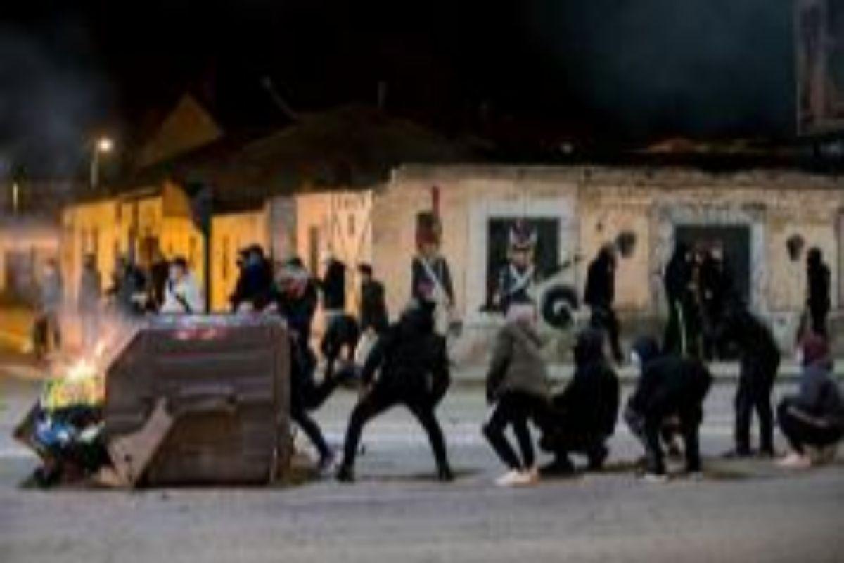 Émeutes à Burgos.