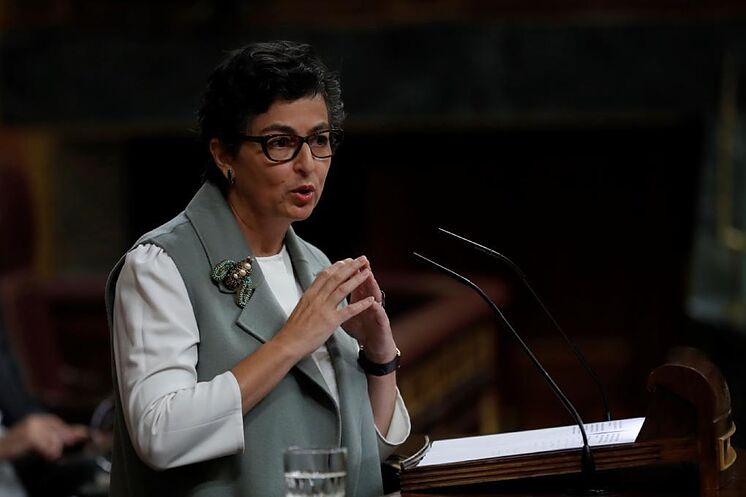 Le ministre des Affaires étrangères, Arancha Gonz
